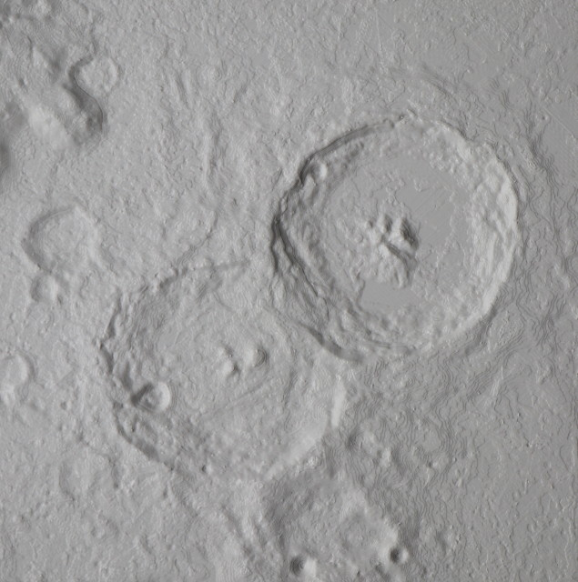moon crater theophilus cyrillus